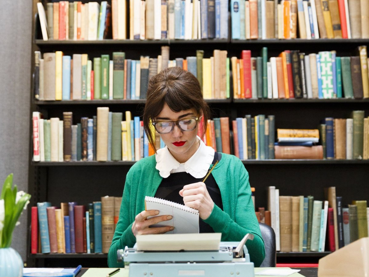 a librarian.