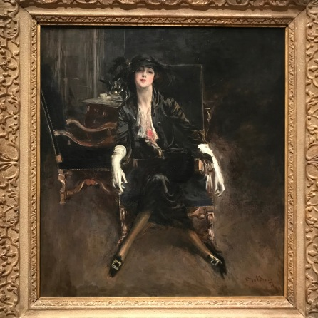 Miss Clark, actress by Giovani Boldini