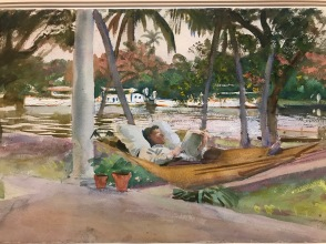 Sargent, watercolor in Florida
